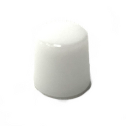 White Thick Quartz Puffco Peak Atomizer Insert