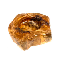 Natural Wood Rustic Ashtray