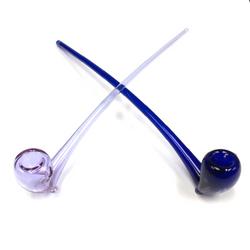 "Starfish Designs 18"" Glass Gandalf Pipe - OG"