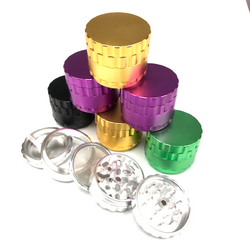 51mm 4pc Aluminum Grinder w/ Removable Screen