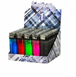 Ignitus Clear Boy Butane Lighters (50 Pack)