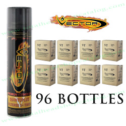Master Case (96 Bottles) of Vector 14X Refined Butane