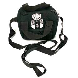 "6"" Black Padded Cotton Bag Paykoc"