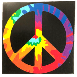 "Peace Sign Wall Hanging Tapestry 30""x40"""
