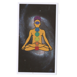 Chakra Spaceman Sticky Boy High Quality Sticker
