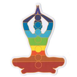 Chakra Tadasana Sticky Boy High Quality Sticker