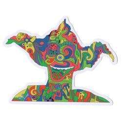 Krunchy the Clown Trips HARD Sticky Boy High Quality Sticker