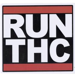 Run THC Sticky Boy High Quality Sticker