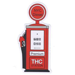THC Gas Pump Sticky Boy High Quality Sticker