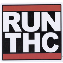 Run THC Iron On Patch