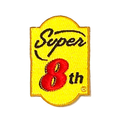 Super Eighth Iron On Patch