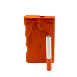 Short Wooden Dugout (ORANGE)