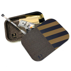 Benji Brand Magnetic Topped Rolling Tray w/ Cones and Papers