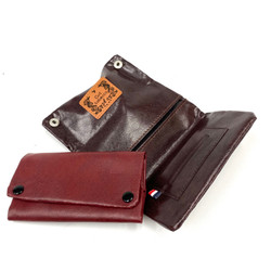 """Italian Leather Cut Tobacco Rolling Paper Pouch Assorted Color 1 Count 3.5x6"""""""