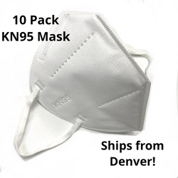 K-N95 Face Mask Ventilators 10 Pack Ships From Colorado - Not NIOSH Approved