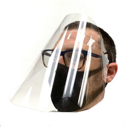 Plastic PPE Face Shield Made in Colorado
