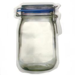 "Mylar Smell Proof Nug Jar 6.5""x10""- 50 Pack Bags"