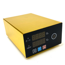 Micro E-Nail with XXL 30mm Flat Top Male - Gold
