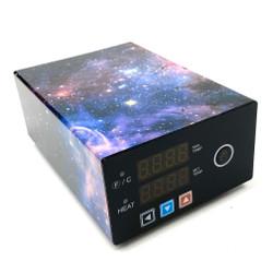 Micro E-Nail with XXL 30mm Flat Top Male - Nebula Wrap