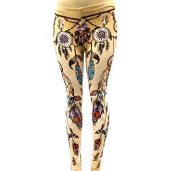 Tan Dreamcatcher Pants Leggings One Size Fits Most