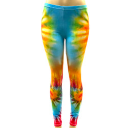 Tie Dye Hippy Pants Leggings One Size Fits Most