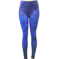 Night Sky Star Space Pants Leggings One Size Fits Most