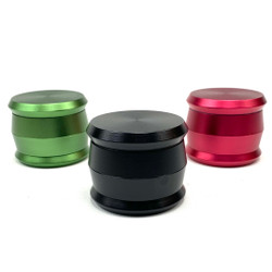 "Judge Gavel Hammer 4 Piece Aluminum Grinder 2.5"" 1 Count Assorted Color"
