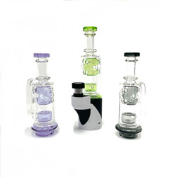 Waffle Recycler Perc Carta Glass Top 1 Count Assorted Colors