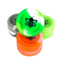 Silicone Honey Jar Slick Container 1 Count Assorted