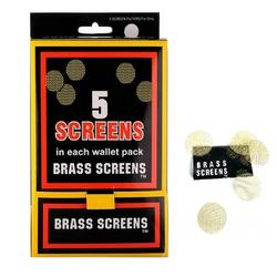 Brass Screen Display Box 100 Packs (500 Screens Total)