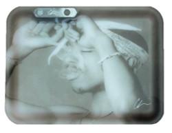 Tupac Glow Tray by Chi Modu