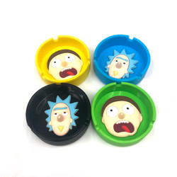 Nose Pokey Bowl Ashtray Knockout Silicone 1 Count Assorted