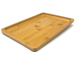 """Large All Natural Bamboo Rolling Tray 7""""x10"""""""