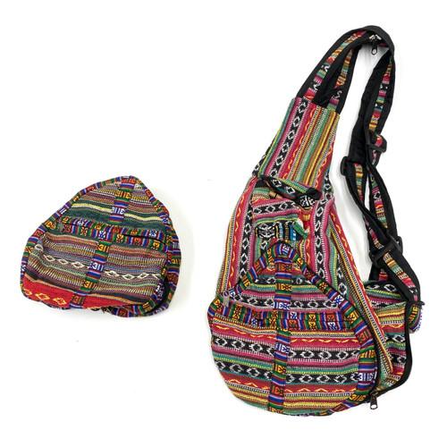 Banana Bag Amazing Zipper Compact  Nepal 1 Count Assorted