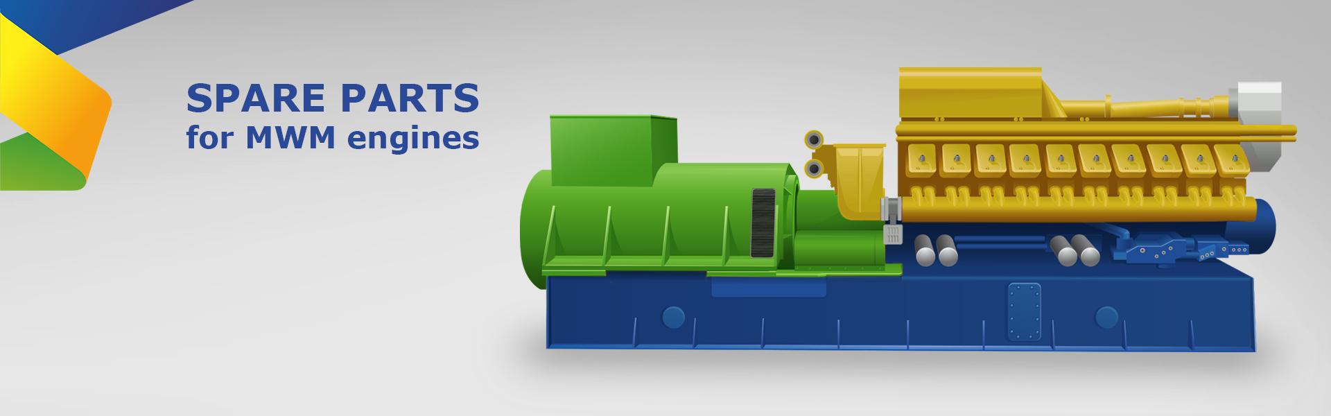 CHP spare parts MWM | EnginePartsOnline | Enspaer