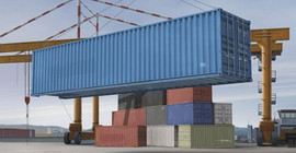 Trumpeter 1030 1/35 40ft Shipping/Storage Container