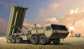 Trumpeter 1054 1/35 US Terminal High Altitude Area Defense (THAAD) Missile System