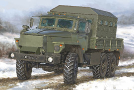Trumpeter 1071 1/35 Russian URAL 4320 CHZ Armored Personnel Carrier Truck