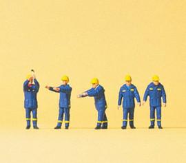Preiser 79180 N Scale Thw Emergency Workers #1