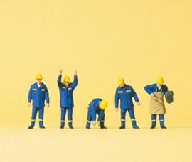 Preiser 79181 N Scale Thw Emrgncy Workers #2 5/