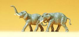 Preiser 79710 N Scale Elephants