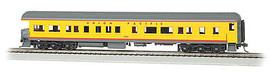 Bachmann 13805 HO Scale 72' Heavyweight Observation - Ready to Run -- Union Pacific #1503 (Armour Yellow, gray, red)
