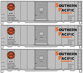 Accurail 8105 HO Scale Aar Boxcar Sp 3#Set