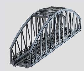 "Marklin 7263 HO Scale Arched Bridge for K-/M-Track -- Length: 14-3/16""  36cm"
