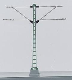 """Marklin 74105 HO Scale Marklin HO Catenary -- Center Mast  Height: 3-15/16"""""""