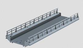 "Marklin 74618 HO Scale C-Track -- Straight Ramp - 7-3/32""  18cm"