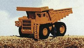 Railway Express Miniatures 2101 N Scale Kit Mine Equipment -- 100-Ton Lectra Haul Mine Truck
