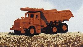 Railway Express Miniatures 2111 N Scale Kit Construction Equipment -- Euclid Mine/Dump Truck