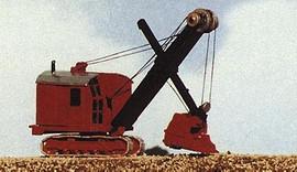 Railway Express Miniatures 2121 N Scale Kit Construction Equipment -- Bucyrus Excavator Shovel