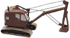 Railway Express Miniatures 2161 N Scale Kit Construction Equipment -- Bantam Backhoe Excavator